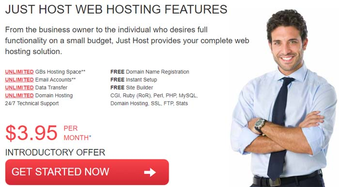 JustHost Coupon Codes for Cheap Web Hosting