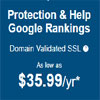 Get Protection & Help Google Rankings On Low Price
